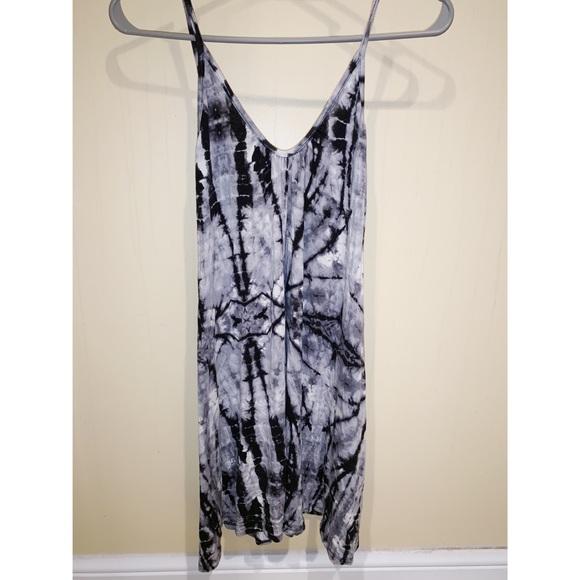 B Jewel Dresses & Skirts - B Jewel Black and White Tie Dye Dress